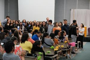 The LEAP mission is to mentor and empower Latino/Latina students through educational and cultural opportunities while creating programs that promote academia.