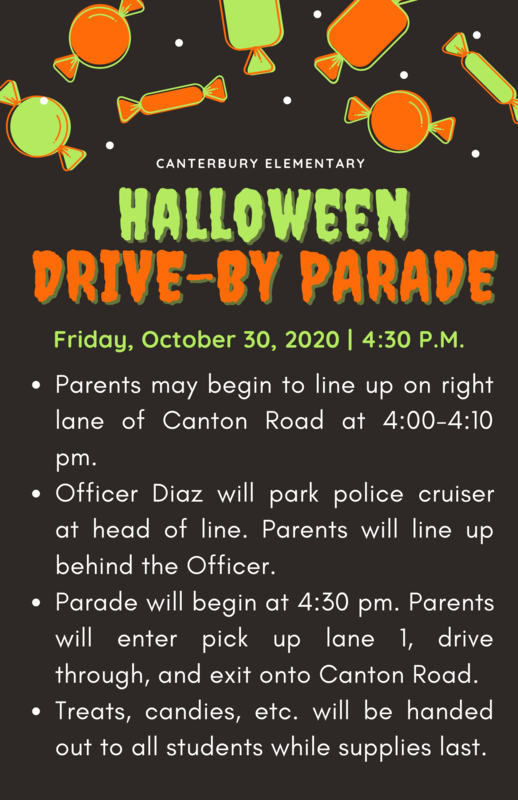 Halloween Drive-by Parade