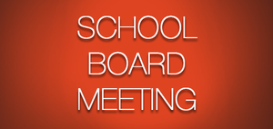 October 21, 2018 School Board Meeting