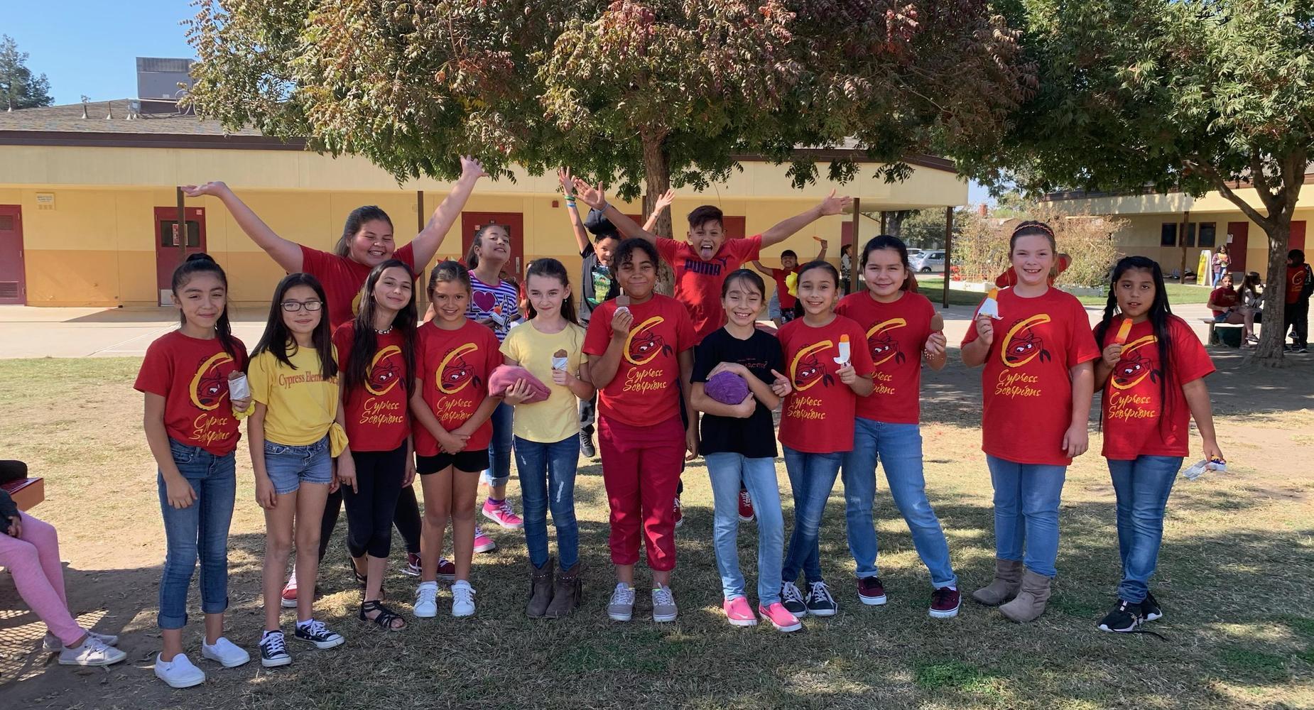 Cypress Students