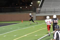 MWJh ram running down the field for a touchdown.