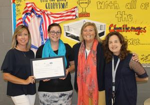 Harpeth Middle School: Kristian Dennison, Hands-On Mathematics!, $1,498.34