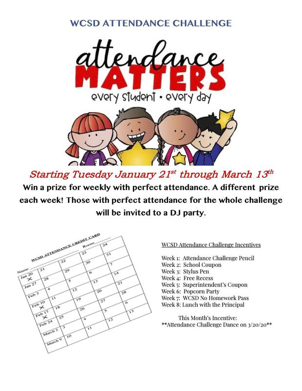 Attendance Challenge Flyer