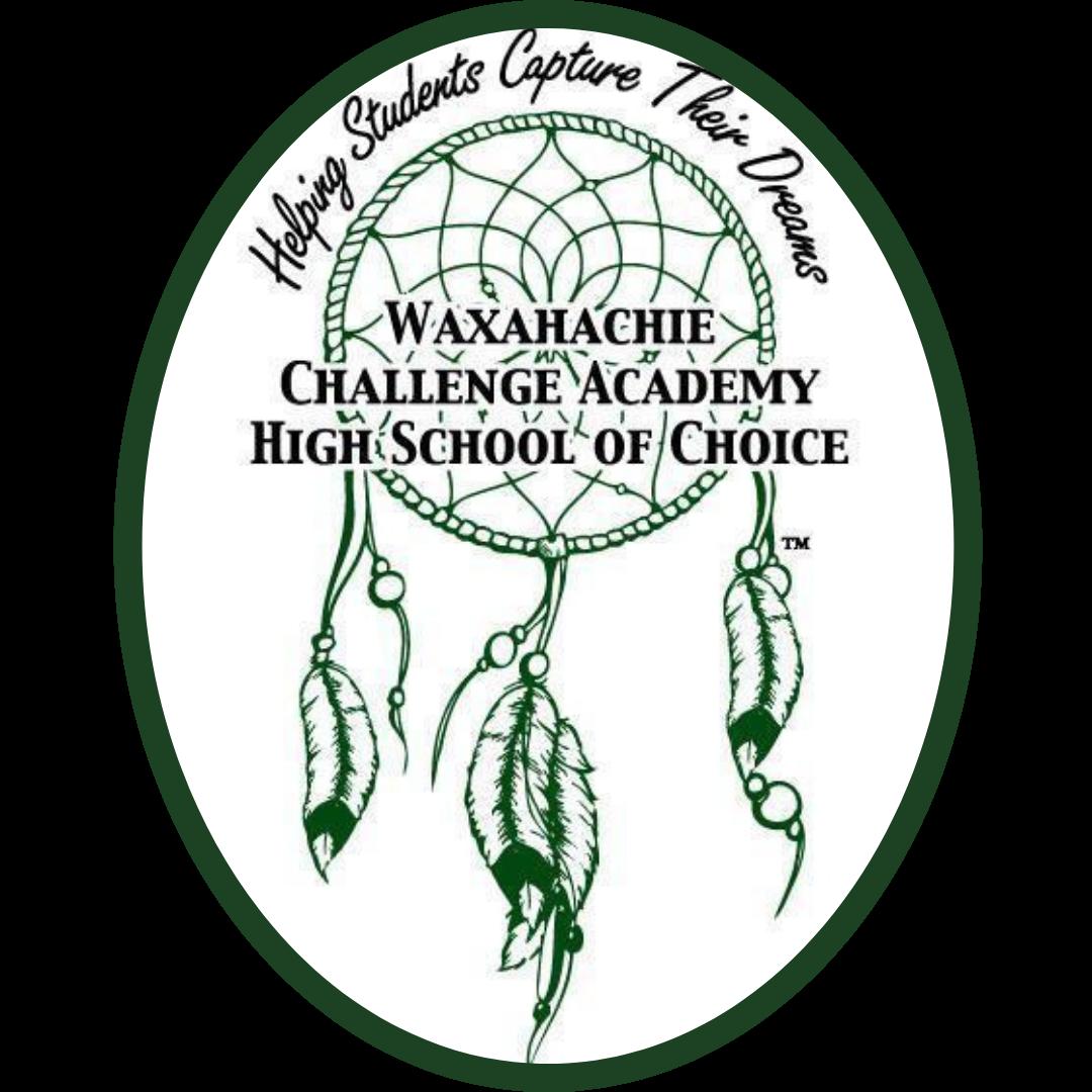 high school of choice logo features a dream catcher