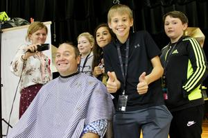 Spring Branch MS Head Shaving