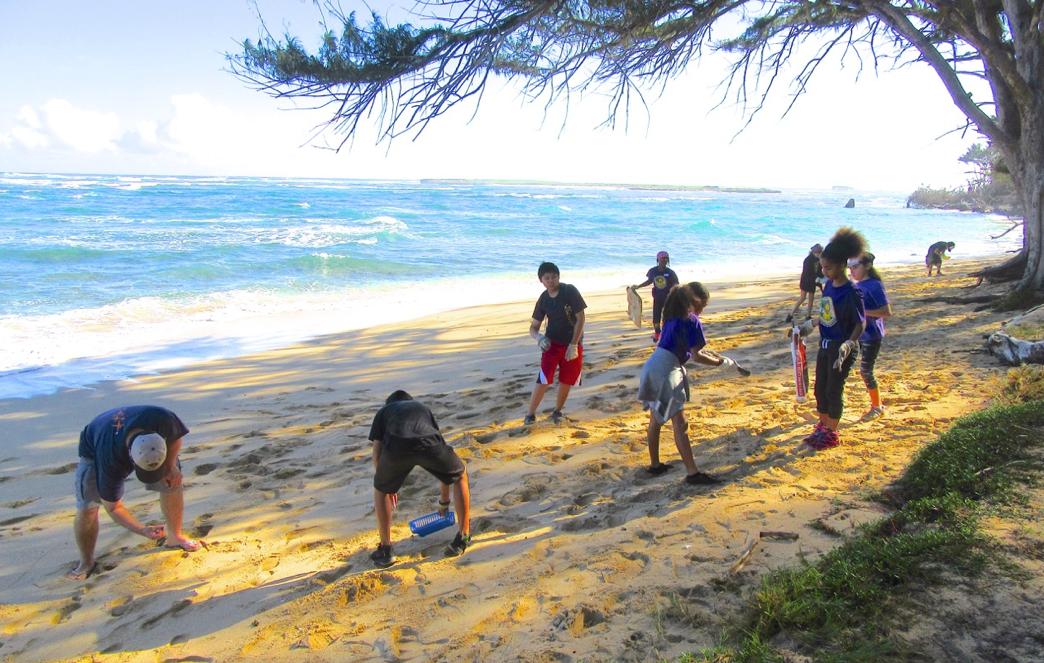 AVID Beach Clean Up
