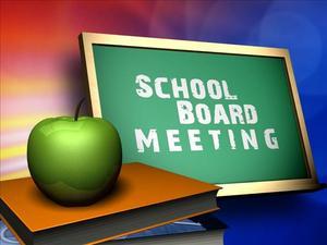 School Board Meeting logo