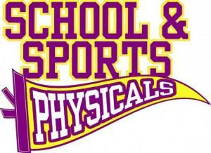 Fall Sports Physicals Schedule 2021-2022 School year Featured Photo
