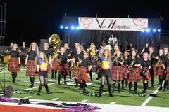 Anderson Band performing their Summer Marching Program Van Highlanders - September 24, 2021