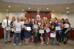 2018 Hart District Classified Employees of the Year