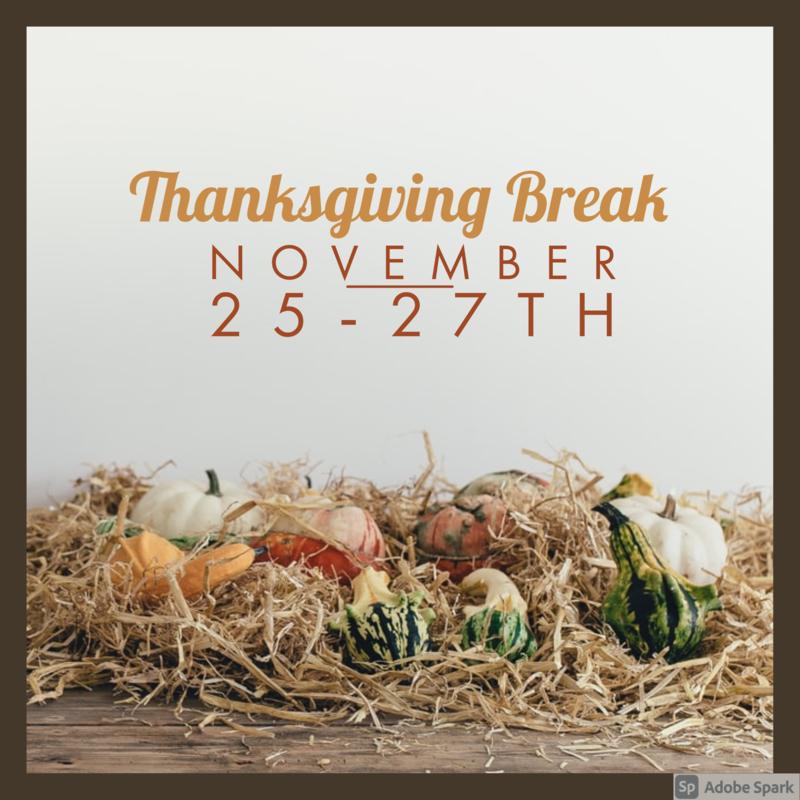 Enjoy your Thanksgiving break. Thumbnail Image
