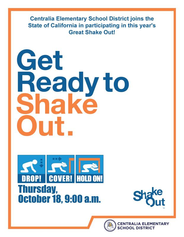 Great Shake Out Flyer