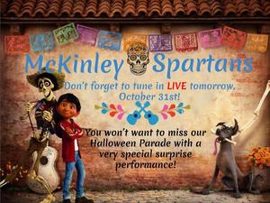 mckinley spartans tune in to live streaming  special performance