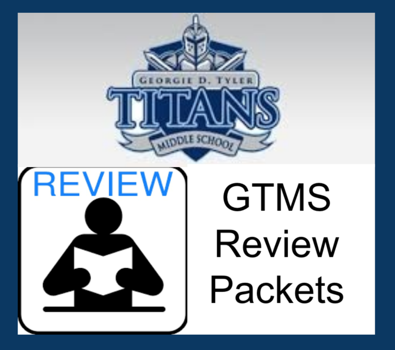 GTMS Review Packets for Closure Period