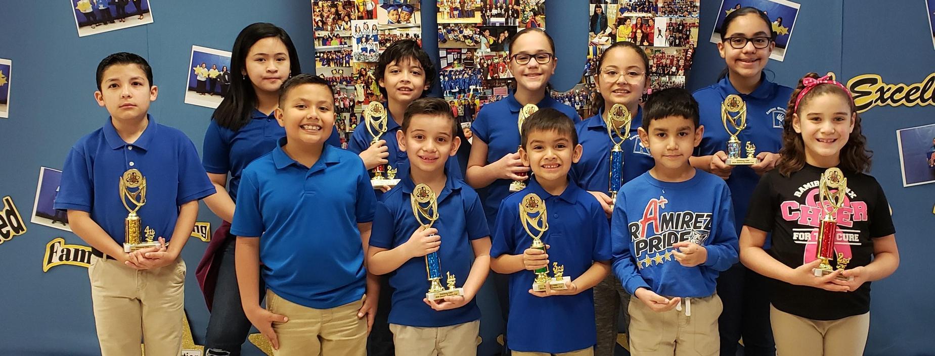 Science Fair District Winners