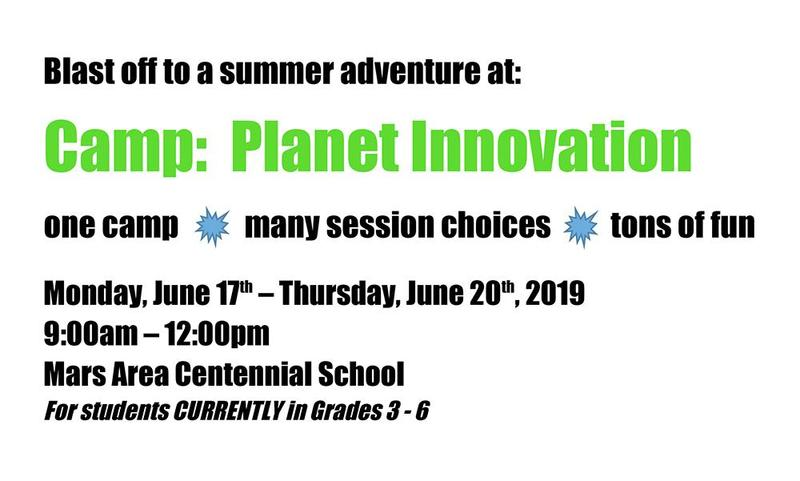 Camp: Planet Innovation 2019 Announcement