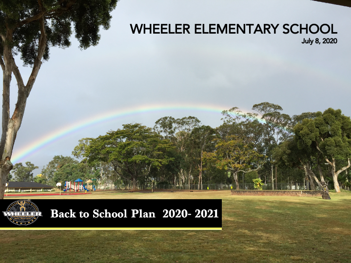 Back to School Plan: Fall 2020 Featured Photo