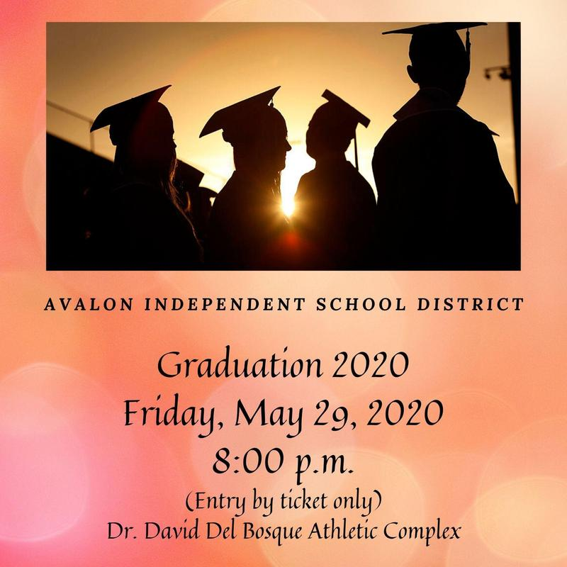 Graduation 2020 - Friday, May 29, 8:00 p.m. Featured Photo