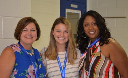 Mrs. Robinson, Ms. Reynolds, & Dr. Prescott
