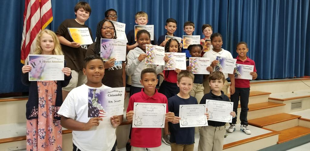 4th Term - 3rd Grade Awards