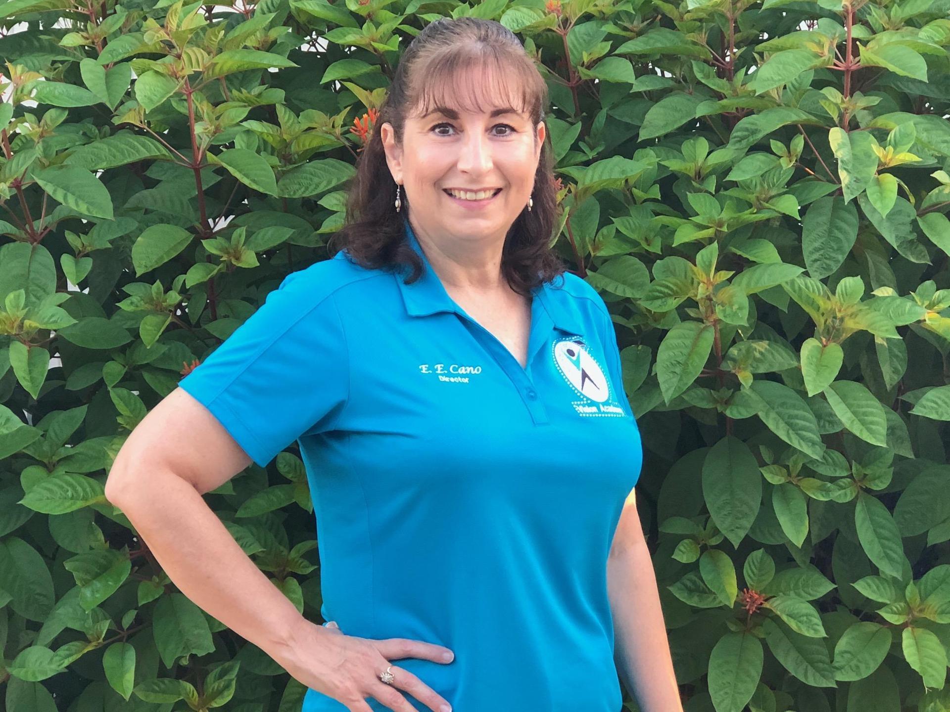 Ernestina Cano Vision School director