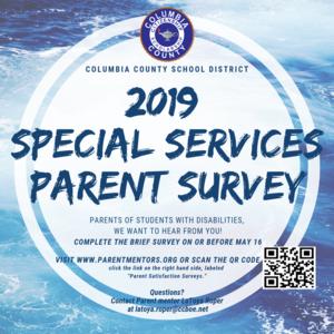 Special Surveys parent survey.