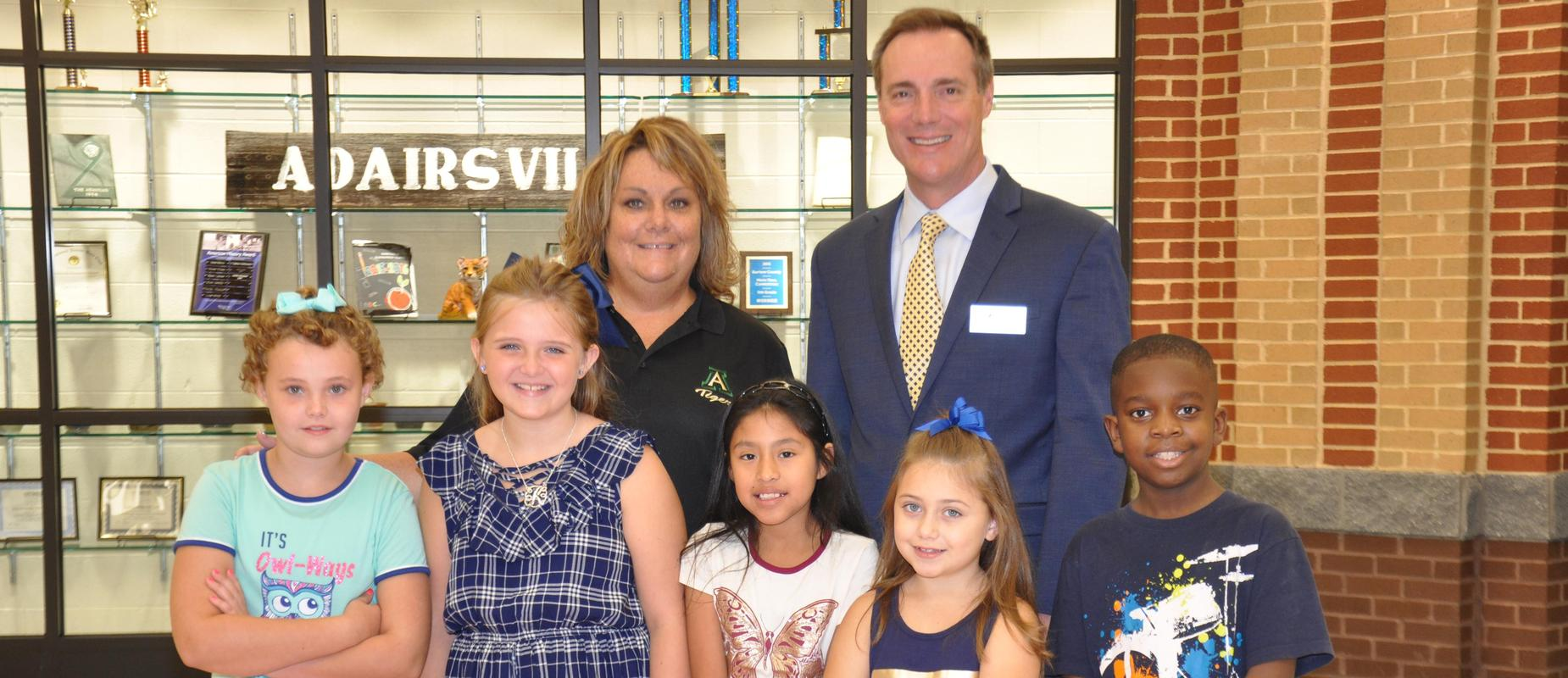 Back to school time at Adairsville Elementary