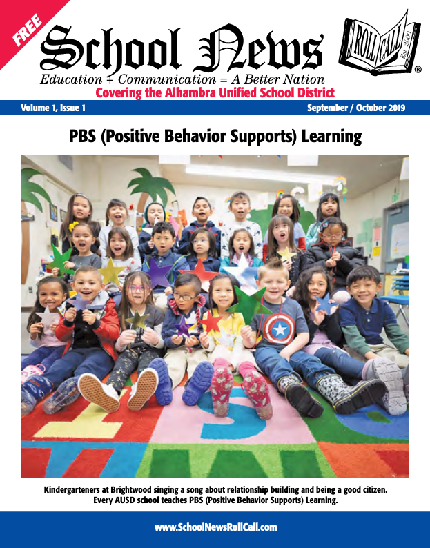 Alhambra Unified Launches AUSD School News Quarterly Magazine Featured Photo