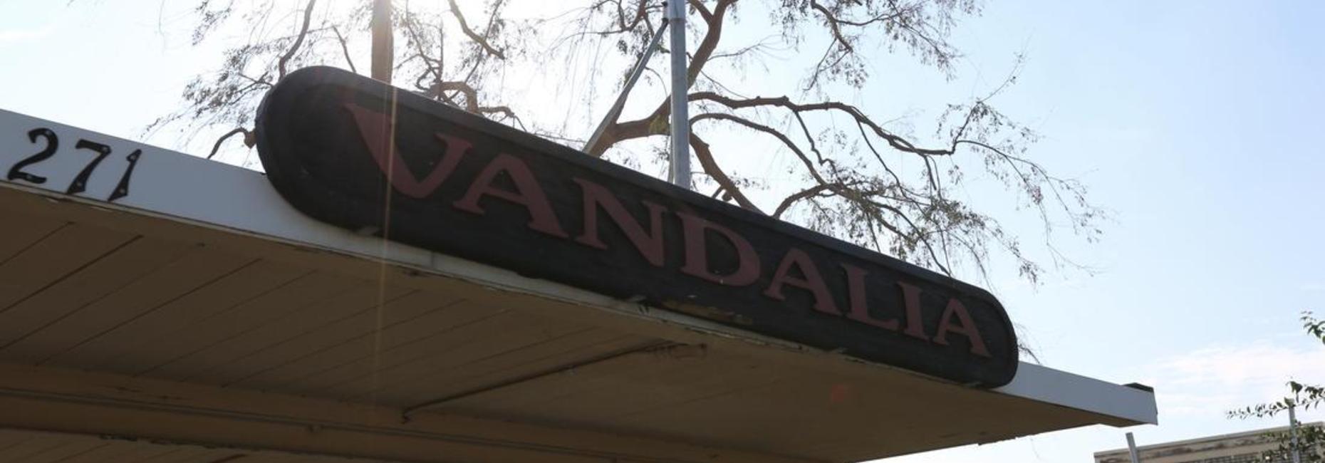 Vandalia sign