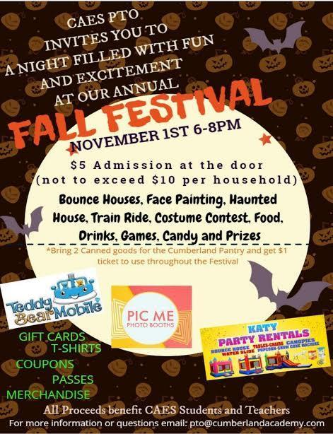 Fall Festival Information Featured Photo