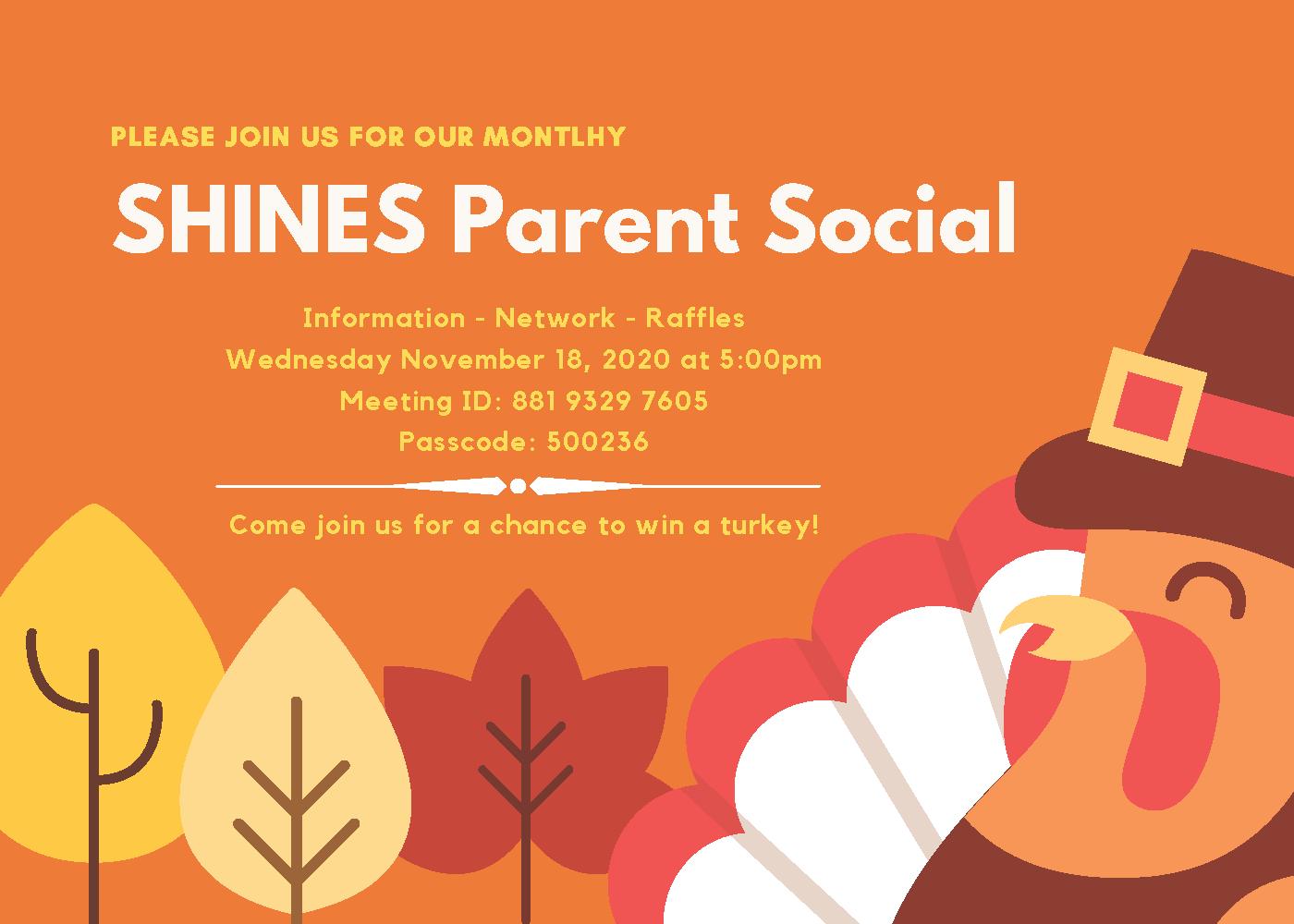 Shines - November Meeting