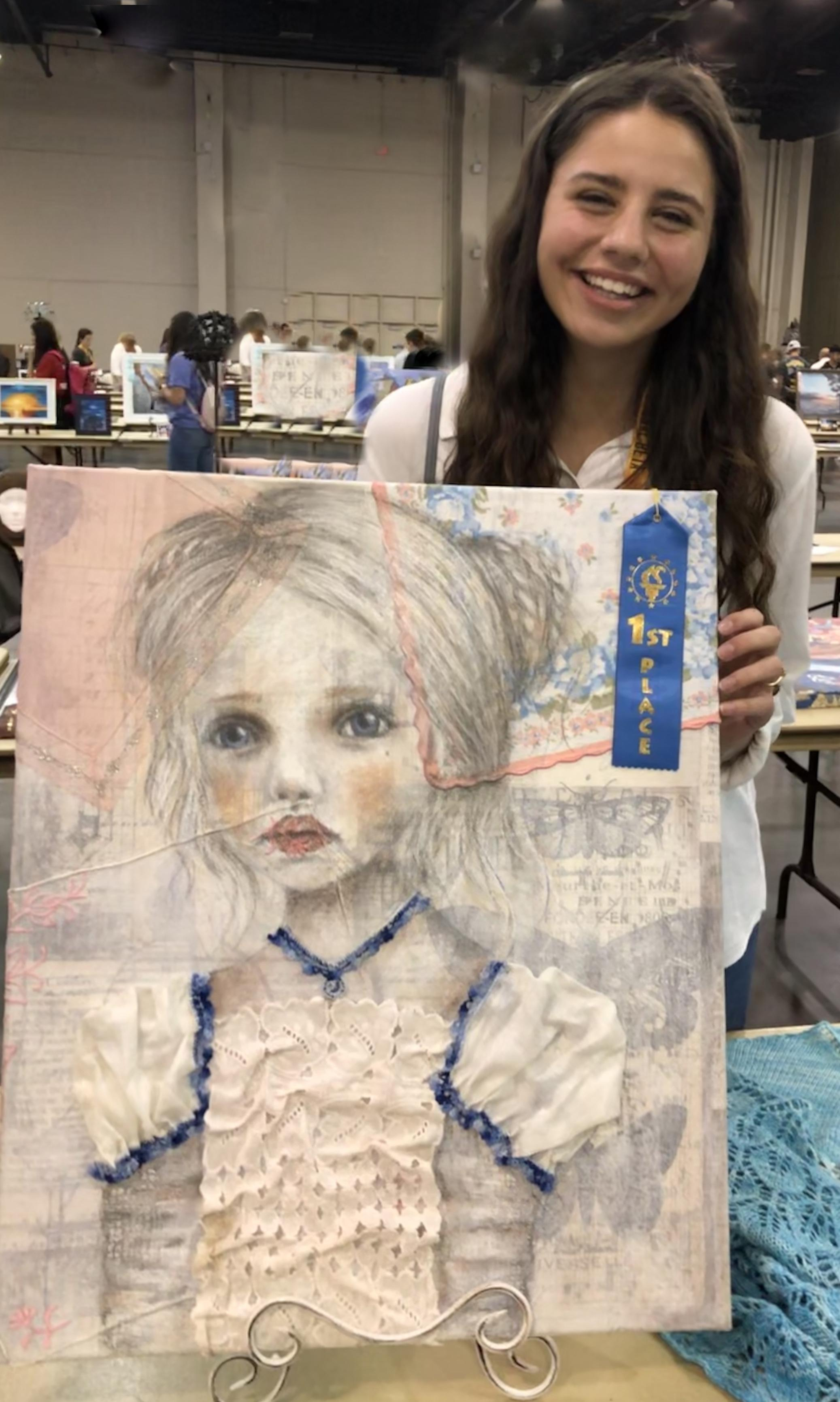 1st Place Fiber Arts