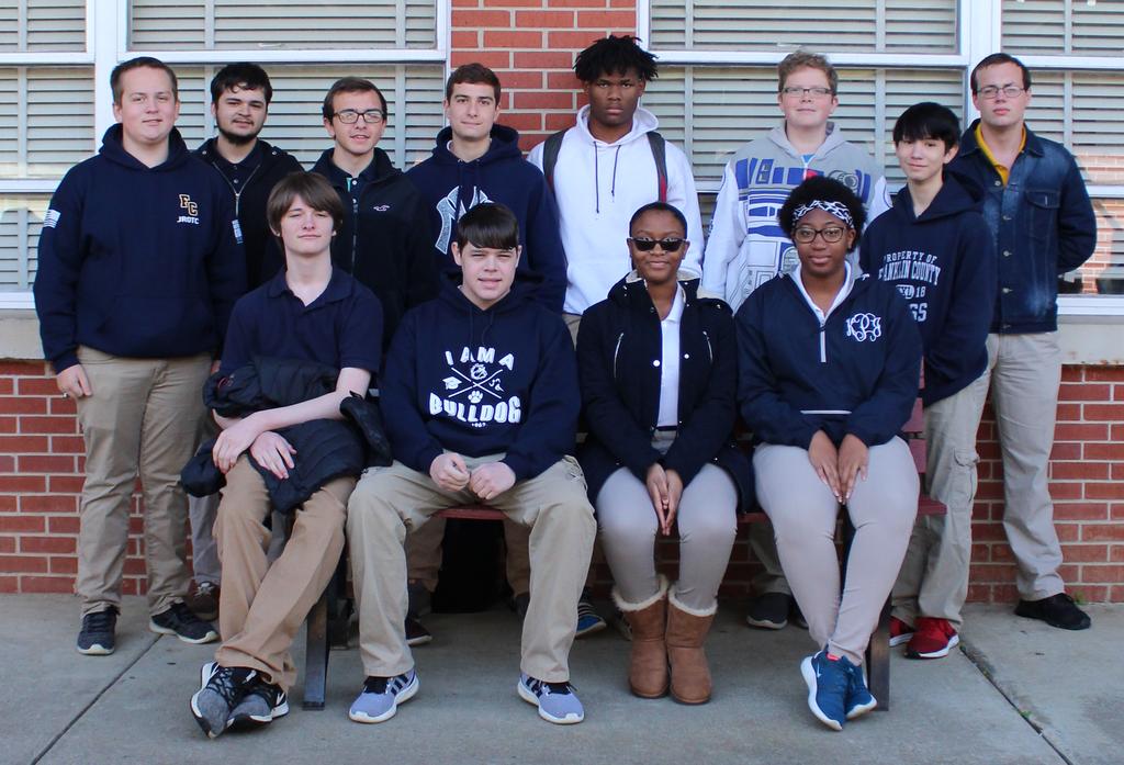 group photograph of tsa students