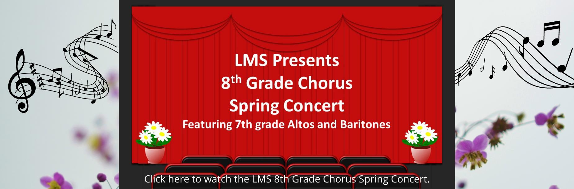 8th grade chorus spring concert link