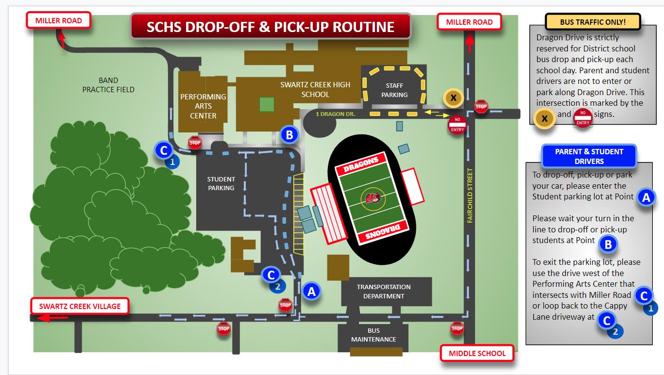 HS Student Drop & Pickup