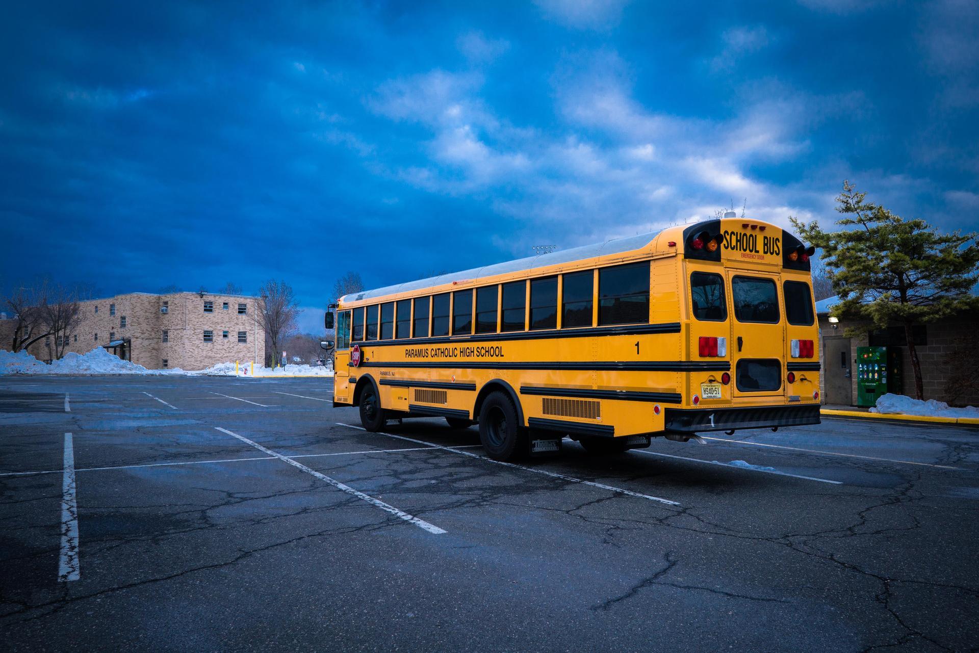Paramus Catholic bus