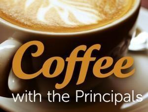 The Next Coffee with the Principals is Monday, October 8 8:30am in the Parent Center Featured Photo