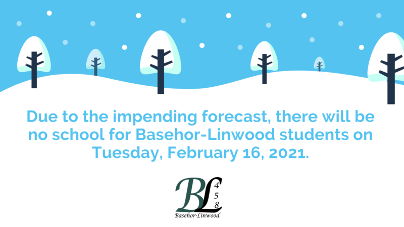 Snow Day, Tuesday, February 16, 2021