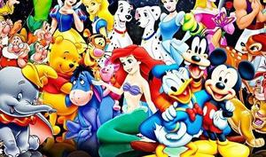 many Disney characters