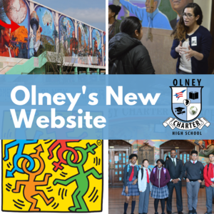 Olney's New Website