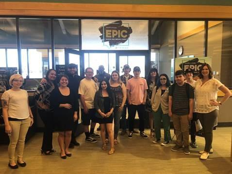 October Graduates Visit EPIC Center @ The Beale Library Thumbnail Image