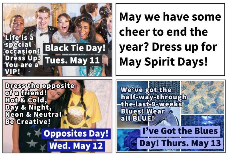 May Spirit Days