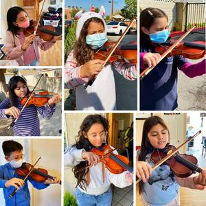 Elementary, middle and high school students in the District's violin and orchestra programs work diligently to grow their skills and explore their creativity through music.