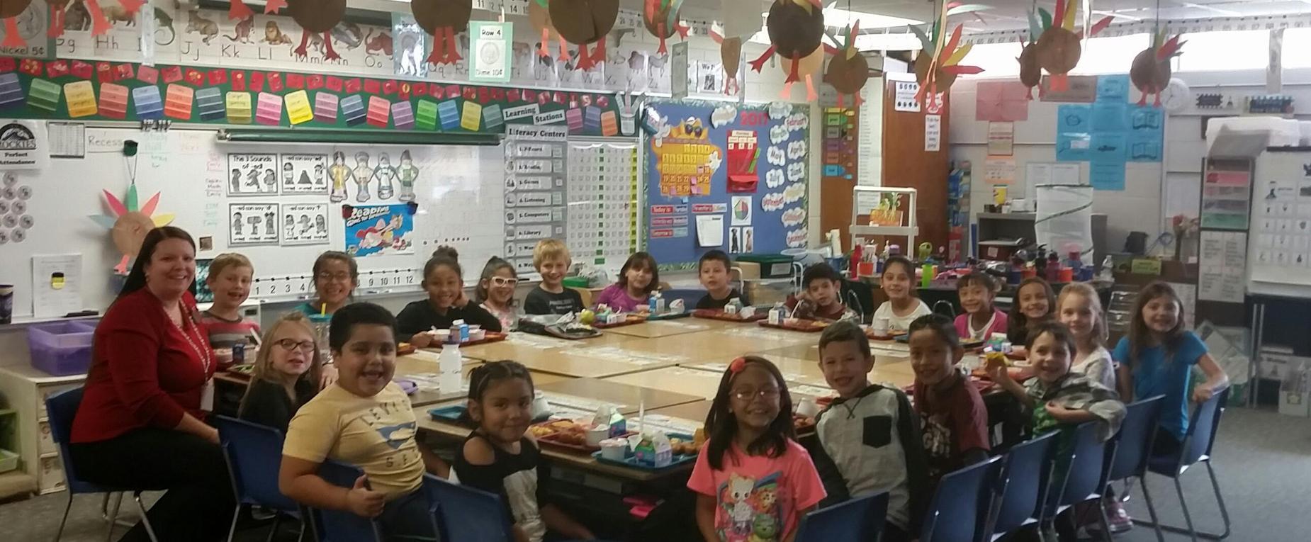 Miss Nadanyi's 2nd Grade Class