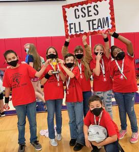 Clear Spring Elementary Cyber Stallions First Lego League Team