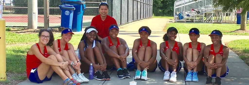 North Meck Girls Tennis Team
