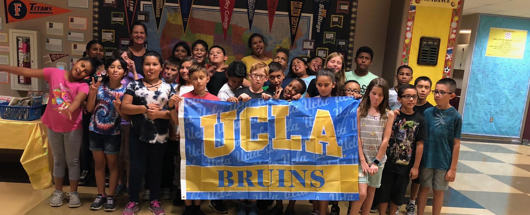 Sundance is representing UCLA