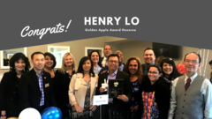 Congratulations to GSD Board Member Henry Lo for receiving the 2020 Golden Apple Award!