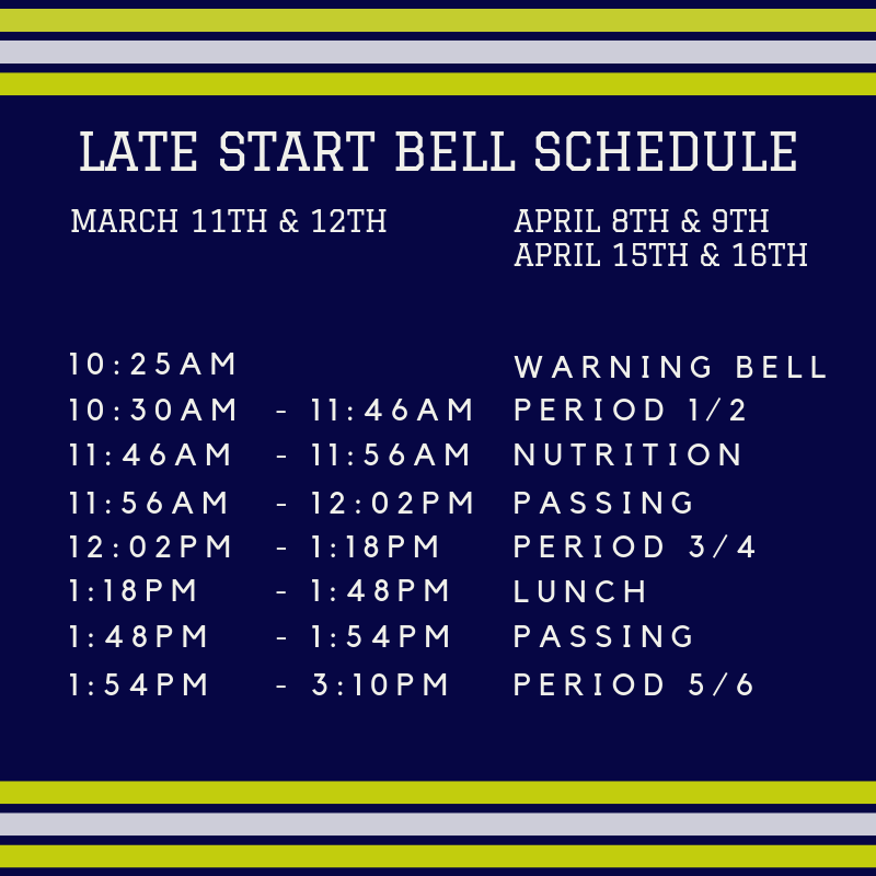 Late Start Bell Schedule Featured Photo