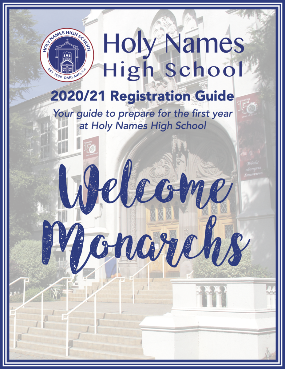 Holy Names High School 2020/21 Registration Booklet